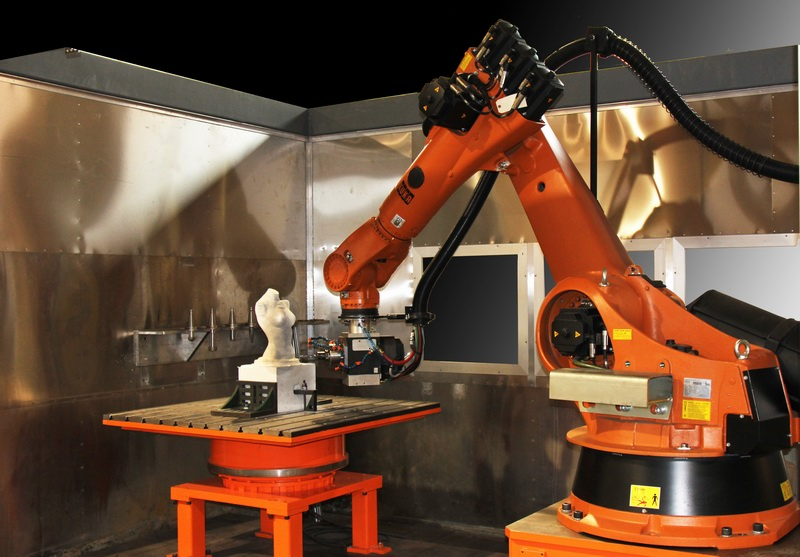 New Age Robotics – Milling & Sculpting