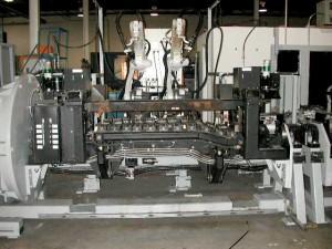 MIG Welding tooling for automotive frames