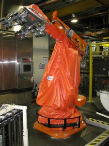 New Age Robotics Robot dressing