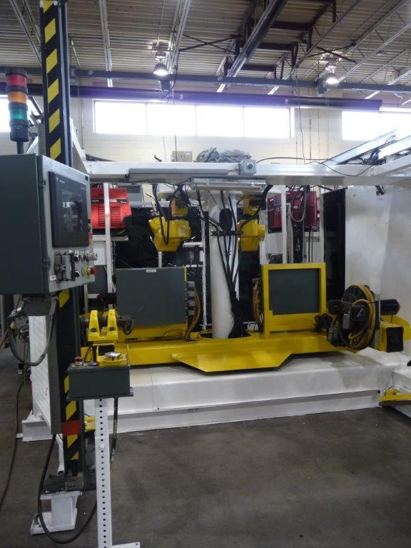 New Age Robotics Dual Fanuc System