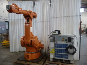 ABB 4400 M2000, S4C +Controller mfg. 2002 / 60 kg payload / 1.96 m reach robot