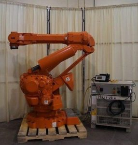 ABB IRB 6400R Robot Model M2000, S4C+ Controller Mfd. 2003 - Complete
